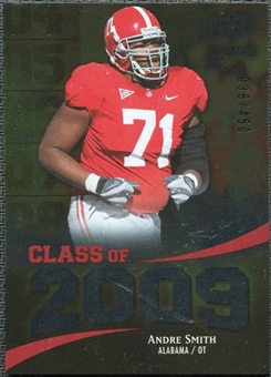 2009 Upper Deck Icons Class of 2009 Silver #AS Andre Smith /450