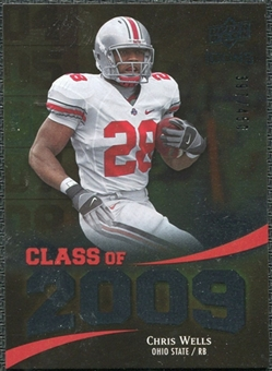 2009 Upper Deck Icons Class of 2009 Silver #CW Chris Wells /450