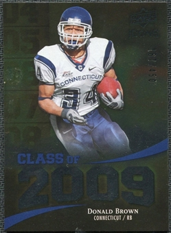 2009 Upper Deck Icons Class of 2009 Silver #DB Donald Brown /450
