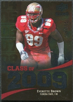 2009 Upper Deck Icons Class of 2009 Silver #EB Everette Brown /450