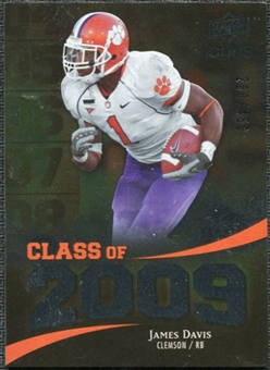 2009 Upper Deck Icons Class of 2009 Silver #JD James Davis /450