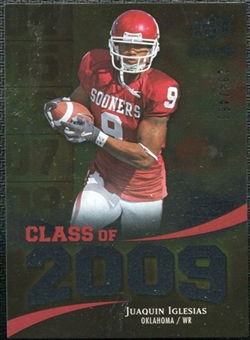 2009 Upper Deck Icons Class of 2009 Silver #JI Juaquin Iglesias /450