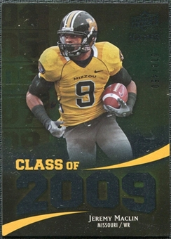 2009 Upper Deck Icons Class of 2009 Silver #JM Jeremy Maclin /450