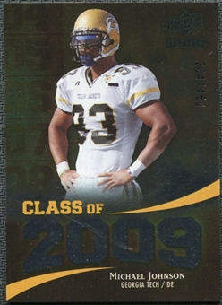 2009 Upper Deck Icons Class of 2009 Silver #JO Michael Johnson /450
