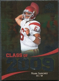 2009 Upper Deck Icons Class of 2009 Silver #MS Mark Sanchez /450