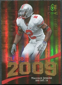 2009 Upper Deck Icons Class of 2009 Gold #MJ Malcolm Jenkins /130