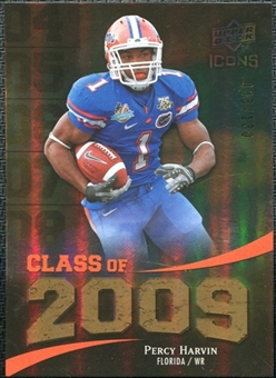 2009 Upper Deck Icons Class of 2009 Gold #PH Percy Harvin /130