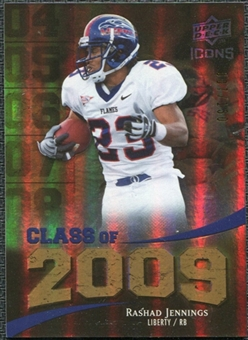 2009 Upper Deck Icons Class of 2009 Gold #RJ Rashad Jennings /130