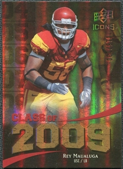 2009 Upper Deck Icons Class of 2009 Gold #RM Rey Maualuga /130