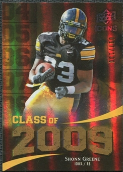 2009 Upper Deck Icons Class of 2009 Gold #SG Shonn Greene /130