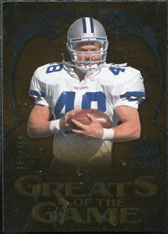 2009 Upper Deck Icons Greats of the Game Silver #GGDJ Daryl Johnston /450