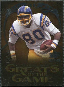 2009 Upper Deck Icons Greats of the Game Silver #GGKW Kellen Winslow Sr. /450