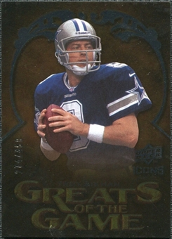 2009 Upper Deck Icons Greats of the Game Silver #GGTA Troy Aikman /450