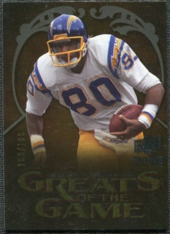 2009 Upper Deck Icons Greats of the Game Gold 199 #GGKW Kellen Winslow Sr. /199