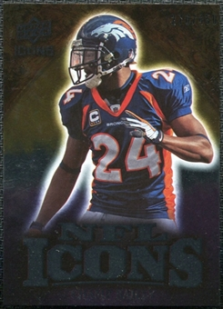 2009 Upper Deck Icons NFL Icons Silver #ICCB Champ Bailey /450