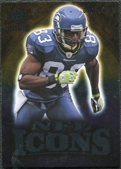 2009 Upper Deck Icons NFL Icons Silver #ICDB Deion Branch /450
