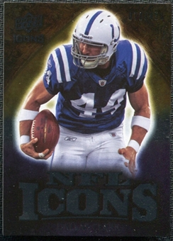 2009 Upper Deck Icons NFL Icons Silver #ICDC Dallas Clark /450