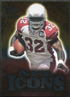 2009 Upper Deck Icons NFL Icons Silver #ICEJ Edgerrin James /450