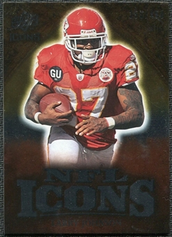 2009 Upper Deck Icons NFL Icons Silver #ICLJ Larry Johnson /450