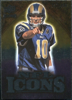 2009 Upper Deck Icons NFL Icons Silver #ICMB Marc Bulger /450