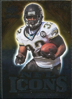 2009 Upper Deck Icons NFL Icons Silver #ICMJ Maurice Jones-Drew /450