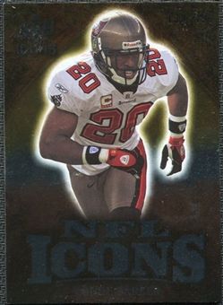 2009 Upper Deck Icons NFL Icons Silver #ICRB Ronde Barber /450