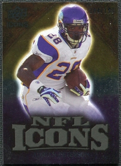 2009 Upper Deck Icons NFL Icons Gold #ICAP Adrian Peterson /199