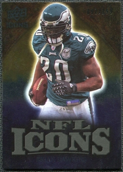 2009 Upper Deck Icons NFL Icons Gold #ICBD Brian Dawkins /199