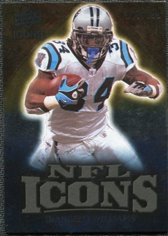 2009 Upper Deck Icons NFL Icons Gold #ICDI DeAngelo Williams /199