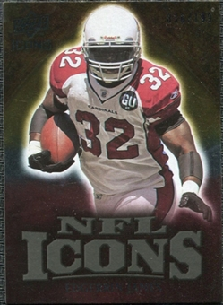 2009 Upper Deck Icons NFL Icons Gold #ICEJ Edgerrin James /199