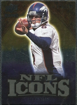 2009 Upper Deck Icons NFL Icons Gold #ICJC Jay Cutler /199