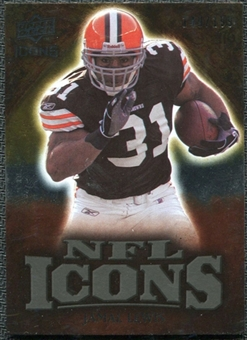 2009 Upper Deck Icons NFL Icons Gold #ICJL Jamal Lewis /199