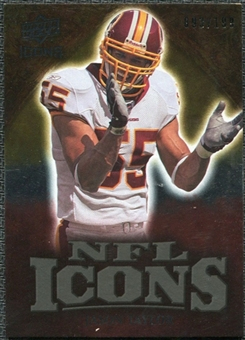 2009 Upper Deck Icons NFL Icons Gold #ICJT Jason Taylor /199