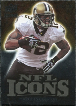 2009 Upper Deck Icons NFL Icons Gold #ICMC Marques Colston /199