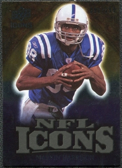 2009 Upper Deck Icons NFL Icons Gold #ICMH Marvin Harrison /199