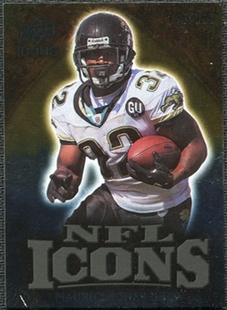 2009 Upper Deck Icons NFL Icons Gold #ICMJ Maurice Jones-Drew /199