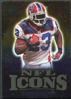 2009 Upper Deck Icons NFL Icons Gold #ICML Marshawn Lynch /199
