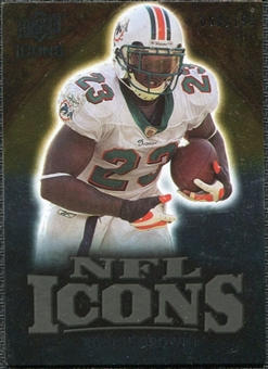 2009 Upper Deck Icons NFL Icons Gold #ICRR Ronnie Brown /199