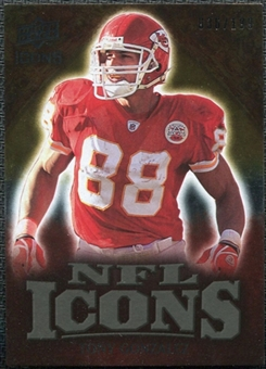 2009 Upper Deck Icons NFL Icons Gold #ICTG Tony Gonzalez /199