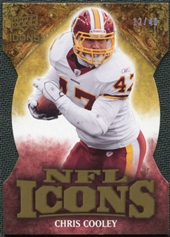2009 Upper Deck Icons NFL Icons Die Cut #ICCC Chris Cooley /40