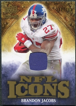 2009 Upper Deck Icons NFL Icons Jerseys #ICBA Brandon Jacobs /299