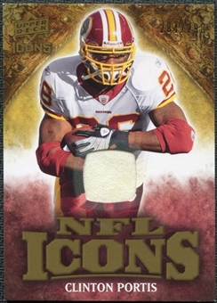 2009 Upper Deck Icons NFL Icons Jerseys #ICCP Clinton Portis /299