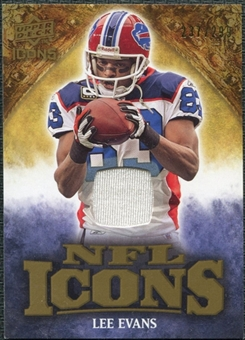 2009 Upper Deck Icons NFL Icons Jerseys #ICLE Lee Evans /299