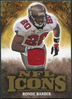 2009 Upper Deck Icons NFL Icons Jerseys #ICRB Ronde Barber /299