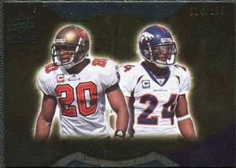 2009 Upper Deck Icons NFL Reflections Die Cut #RFBB Champ Bailey Ronde Barber /40