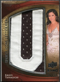 2009 Upper Deck Icons Sports Lettermen #SLKY Kristi Yamaguchi/33/34/(Letters spell out YAMAGUCHI/ Total print