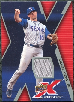 2009 Upper Deck X Memorabilia #MY Michael Young