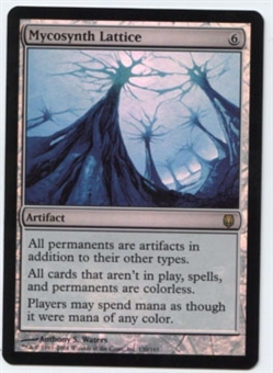 Magic the Gathering Darksteel Single Mycosynth Lattice FOIL