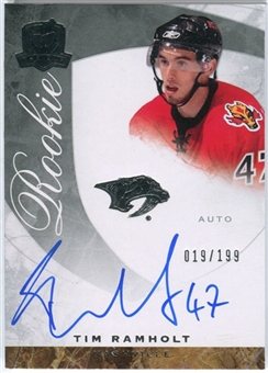 2008/09 Upper Deck The Cup #67 Tim Ramholt Autograph /199