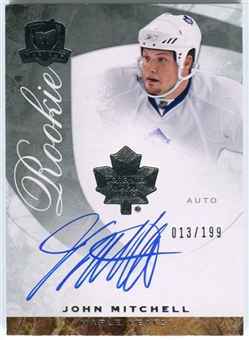 2008/09 Upper Deck The Cup #76 John Mitchell Autograph /199